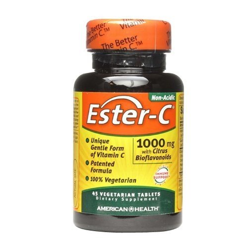 AMERICAN HEALTH ESTER-C 1000 W/CIT BIO VG, 45 TAB (45 C Vitamin Ester Tabs)
