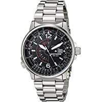 Citizen Mens Stainless Steel Eco-Drive Watch