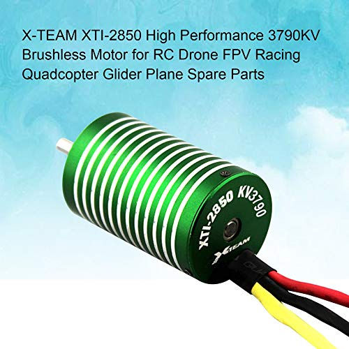 X-TEAM XTI-2850 High Performance 3790KV Brushless Motor for RC Drone FPV Racing Quadcopter Glider Plane Spare Parts❤️