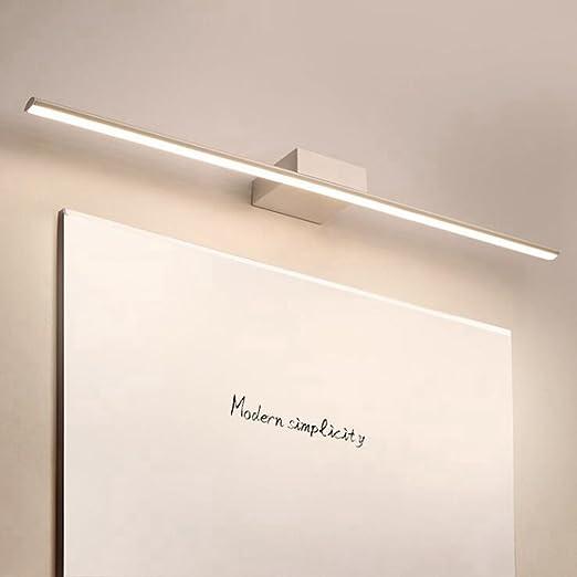 Biutefang Lampada Da Specchio Led Bagno Ip44 10w 4000k Lampada Armadio Specchio Applique Da Parete Moderna Illuminazione Da Bagno Bianco Neutro 40cm Casa E Cucina Bagno