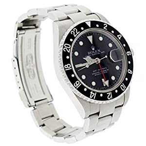 Rolex GMT-MASTER II automatic-self-wind mens Watch 16710 (Certified Pre-owned)