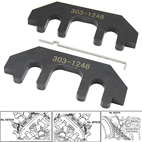 Engine Camshaft Timing Tool Kit For Ford 3.5L 3.7L 4.0L 4V Cam Tool Kit 303-1248