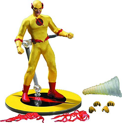 Mezco Toys One-12 Collective: DC Heroes: Reverse Flash Action Figure (Reverse Flash Action Figure)