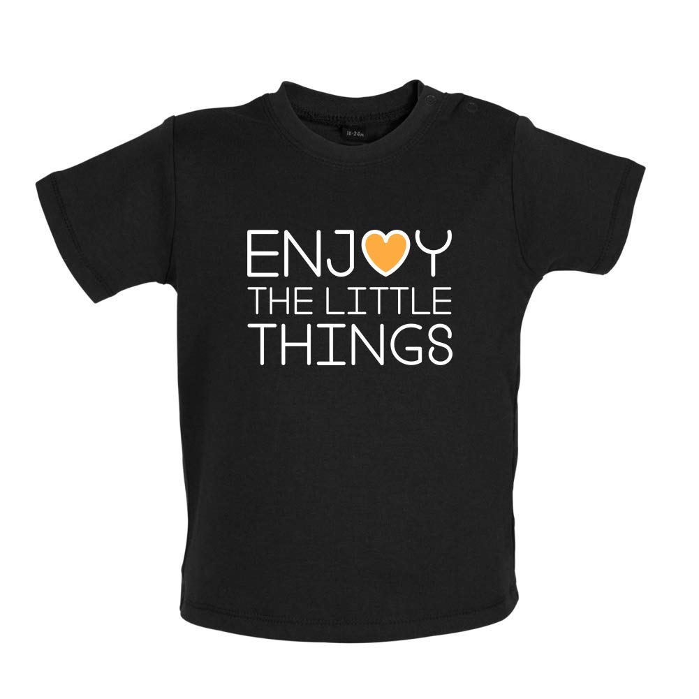 8 Colours Enjoy The Little Things 3-24 Months Baby T-Shirt