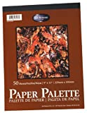 Jack Richeson 12-Inch-by-18-Inch Palette Paper Pad, 50-Sheet