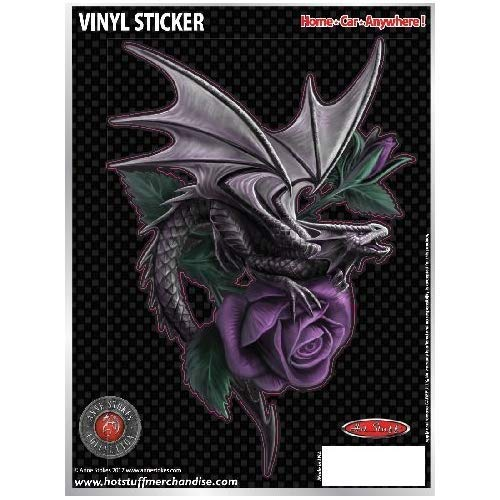 (Epic Vision Dragon Rose Anne Stokes DIE-Cut AUTO Sticker)