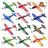 Kissdream 24 Pack 8 Inch Glider Planes - Birthday