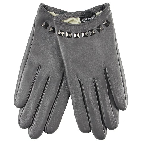 3ddb9f7a3 WARMEN Punk Rock Women Genuine Soft Leather Driving Performance Gloves With  Rivet - Buy Online in Oman. | Apparel Products in Oman - See Prices, ...