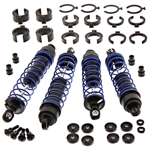 TRAXXAS SLASH 3.3 FRONT AND REAR SHOCKS,SPRINGS, SPACERS AND SCREWS , 3760A, 3762A, 4458 ,5858, 3767 ,3765A, 3766A, 1664, 2656, 3768, 3769 ,1765 ,2362 ,1942.