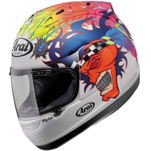 Arai Corsair V Russell White Frost Full Face Helmet - Large