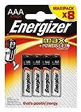 Photo : Energizer Max alkaline AAA/LR03 8-blister [EN-53541022800]