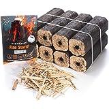 Instafire Fire-Logs - Firewood Logs - Easy Fire - Safe, Efficient, Environmentally Friendly - 8 Pack