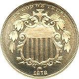 1867-1874 Shield Nickel G/VG