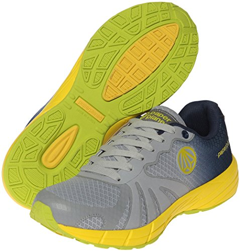 Running Gradation Unisex Mesh Shoes 1194 Paperplanes Trendy Navy Color Gray qOqFPB