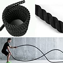 Battle Rope Training Rope Boot Camp Exercise Rope 38MM x 9M - HEAT SHRUNK ENDS