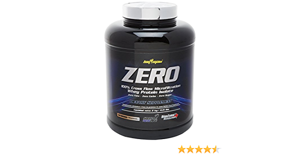 Big Man Nutrition Zero Whey Proteína Isolate, Cinnamon Vanilla - 2000 gr