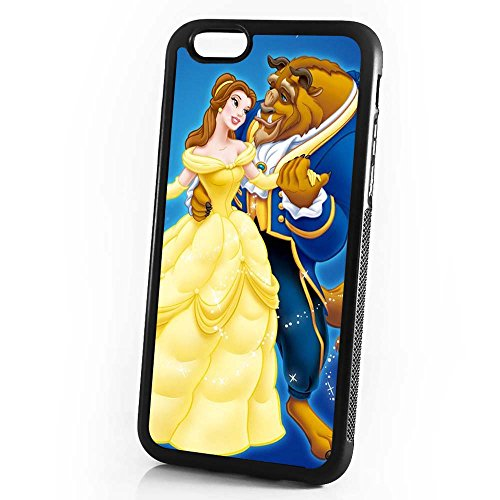 (For iPhone 8/iPhone 7) Durable Protective Soft Back Case Phone Cover - HOT30167 Beauty and Beast Belle