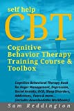 self help cbt cognitive behavior therapy training course toolbox cognitive behavioral therapy book for anger management depression social anxiety ocd sleep disorders addictions fears more