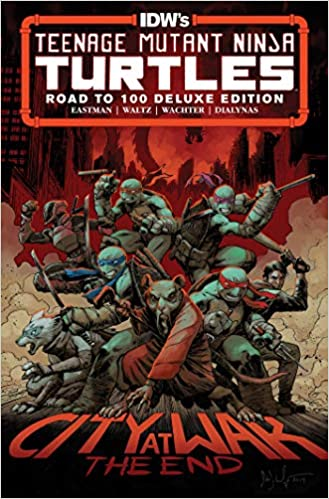 Teenage Mutant Ninja Turtles: Road to 100 Deluxe Edition ...