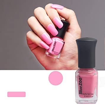 Amazon.com : Nail Polish 6 ml, Series Pink, Solid Color, 60 Seconds ...