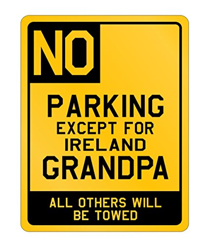 Idakoos - no Parking Ireland - Countries - Parking Sign