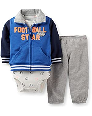 Carter's Baby Boys' Football Star Team Captain -6 Months