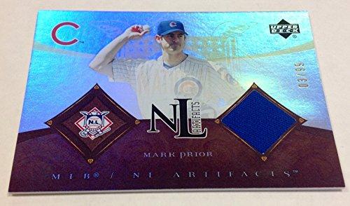 2005 Upper Deck Mark Prior Game Jersey 3/99 MLB Chicago Cubs (Mark Prior Cubs 2005 Game)
