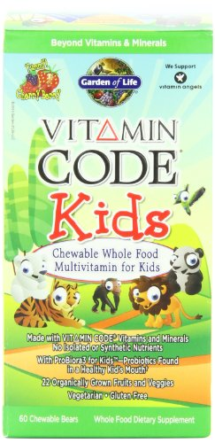 GARDEN OF LIFE - VITAMIN CODE® KIDS - MULTIVITAMINES ENFANTS A CROQUER