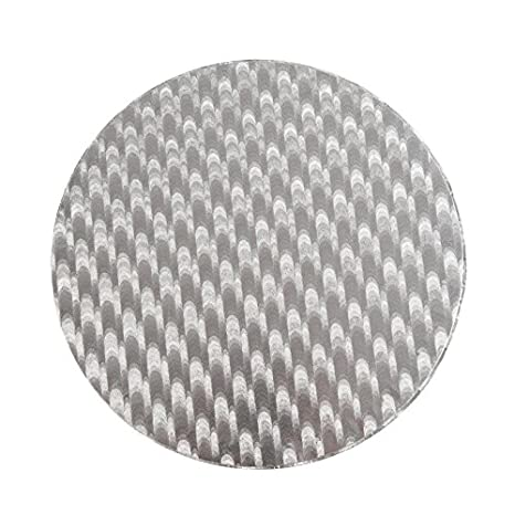 Silver Cake Card Twelve Inch 30cm diameter decorating bake off  2 bases rounds