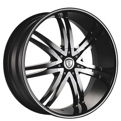 Amazon Com 26 Inch Borghini B14 Black Machine Wheels Rims Only