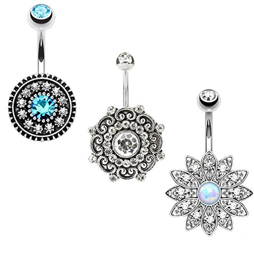 cute belly rings cheap - 8