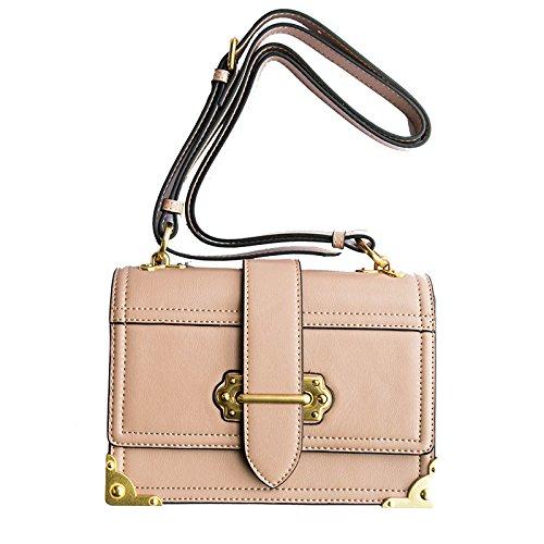 Sac à à Messenger Pink Cuir Oblique Bandoulière à Sac JPFCAK Bag à En Bandoulière Sac Satchel Main Bandoulière Mme gWAq8