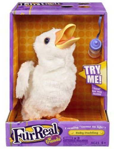 Fur Real Friends Collectible White Duckling by Hasbro (Image #1)