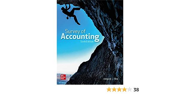 Amazon Com Survey Of Accounting 9781260247770 Edmonds Thomas Edmonds Christopher Olds Philip Books