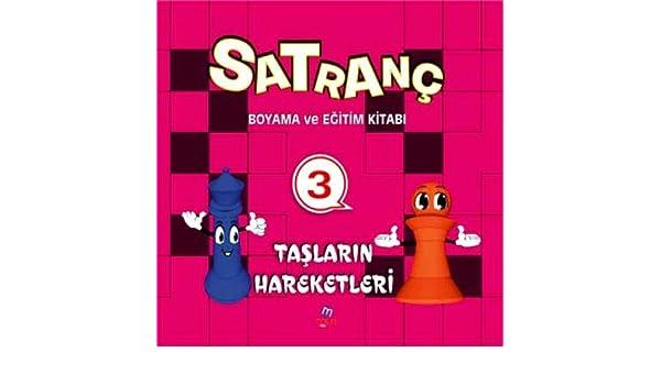 Satranc Boyama Kitabi 3 Derya Yilmaz 9786055675486 Amazoncom Books