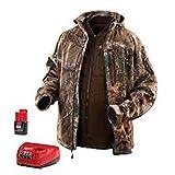 MILWAUKEE ELECTRIC TOOL 2387-M M12 Heated Real tree Xtra 3-In-1 Jacket Kit, Medium
