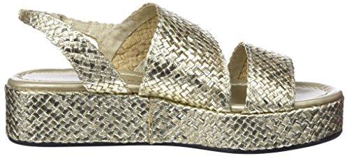 Pons quintana Women's 6891.t00 Sling Back Sandals Gold (Metal Platino 66) SIGCha