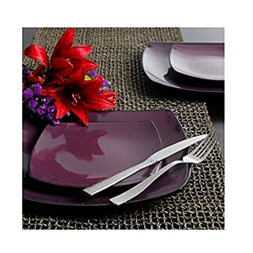 16 Piece Dinnerware Set By Gibson Home. This Soho Lounge Square Dinnerware Set Is an Excellent Choice for Modern Family. Itu0027s Simple Yet Elegant ...  sc 1 st  Amazon.com & Modern Dishes: Amazon.com