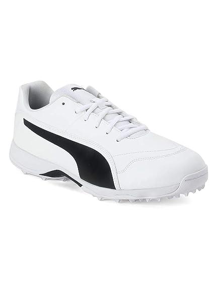 8d50ce78c766 ... Puma Men s White PU Evospeed One8 R Cricket Shoes -10 UK IND ...