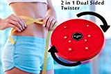 WYVERN© 4 in 1 Magnetic Tummy Trimmer Acupressure Twister Useful for Figure Tone-up, Spine Fitness, Abs Trimming