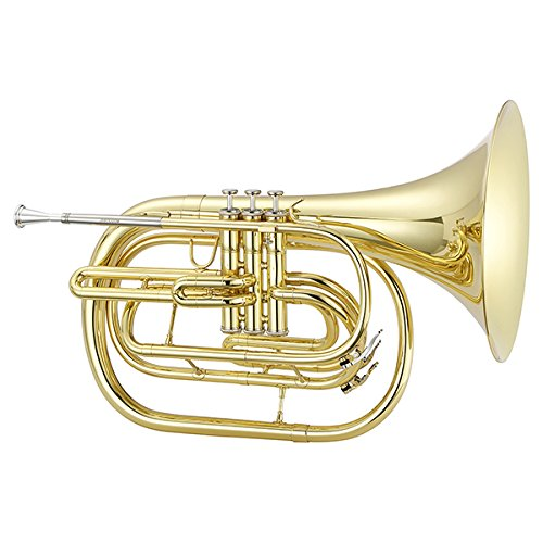 Jupiter JHR1000M Qualifier Series Bb Marching French Horn Lacquer by Jupiter