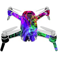 Skin For Yuneec Breeze 4K Drone – Neon Splatter   MightySkins Protective, Durable, and Unique Vinyl Decal wrap cover   Easy To Apply, Remove, and Change Styles   Made in the USA