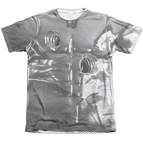 [Terminator II T1000 Costume Mens Sublimation Shirt White Xl] (Terminator T1000 Costume)