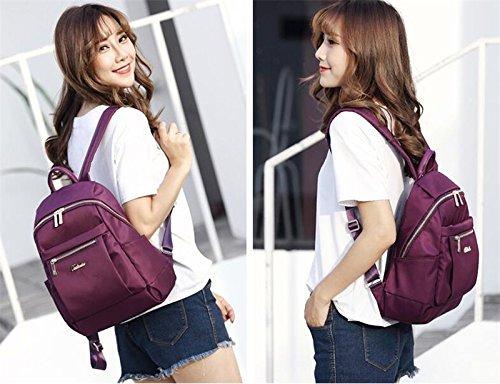 mode Sac Oxford les bag Purple match en tissu tous marées coréenne femme à sac dos MSZYZ nylon occasionnels large sac w4fqXxdX