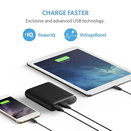 Anker PowerCore 10400mAh External Battery Pack for All Smartphones - Black by Anker (Image #2)