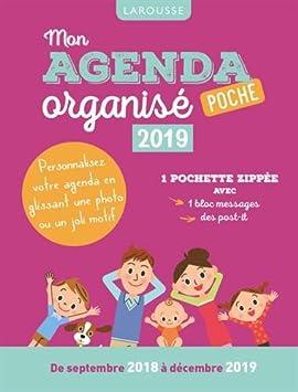 Mon agenda Organise bolsillo 2019: Collectif: Amazon.es ...