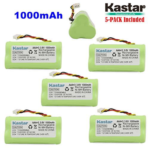 - Kastar 5-Pack AAA 3.6V 1000mAh Ni-MH Rechargeable Battery Replacement for Zebra/Motorola Symbol 82-67705-01 Symbol LS-4278 LS4278-M BTRY-LS42RAAOE-01 DS-6878 Cordless Bluetooth Laser Barcode Scanner