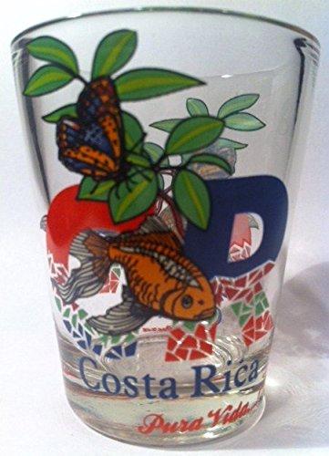 Costa Rica Pura Vida Wildlife Shot Glass