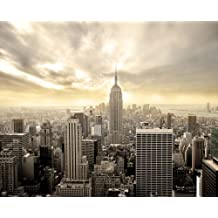 JP London MD3A027 New York Empire Removable Full Wall Mural at 8.5-Feet Tall by 10.5-Feet Wide