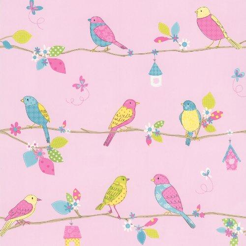 brewster-443-90501-social-birdie-pink-quilted-birds-wallpaper-pink